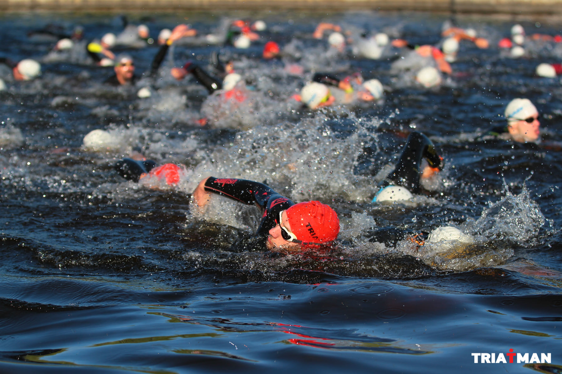 The triathlete's license will be available in mid-February