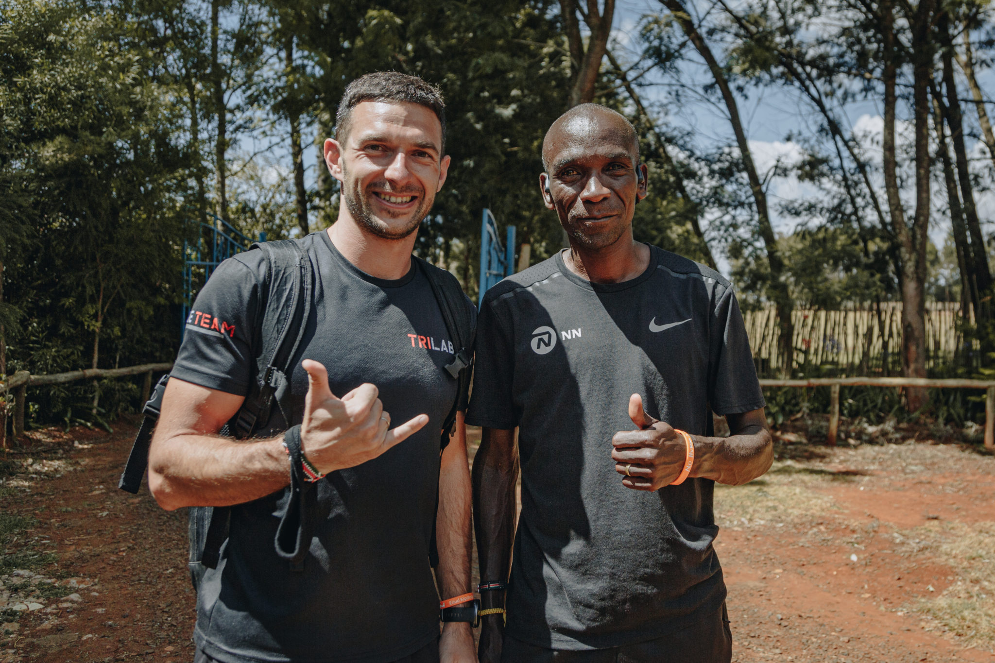 The first vice-president of FTU organized a meeting with the fastest marathon runner on the planet!