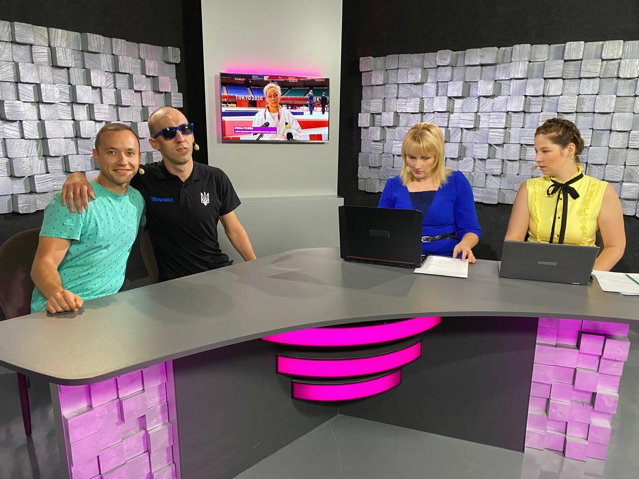 Закревський та Коробенко – гості студії Equalympic.TV